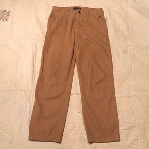 Size 29x30 American eagle relaxed straight khakis
